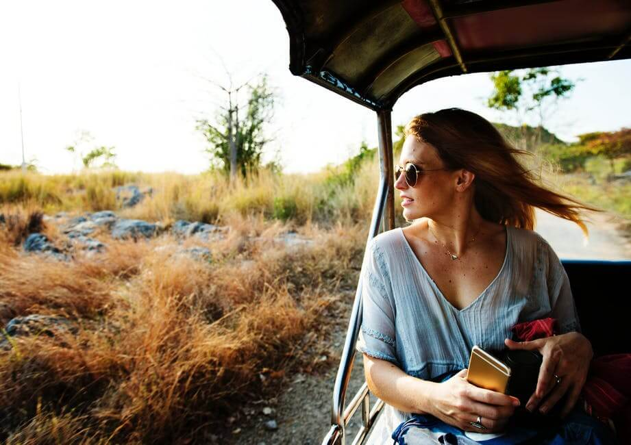 Safari tour.