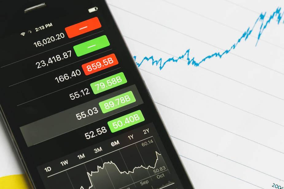 Stock market app.