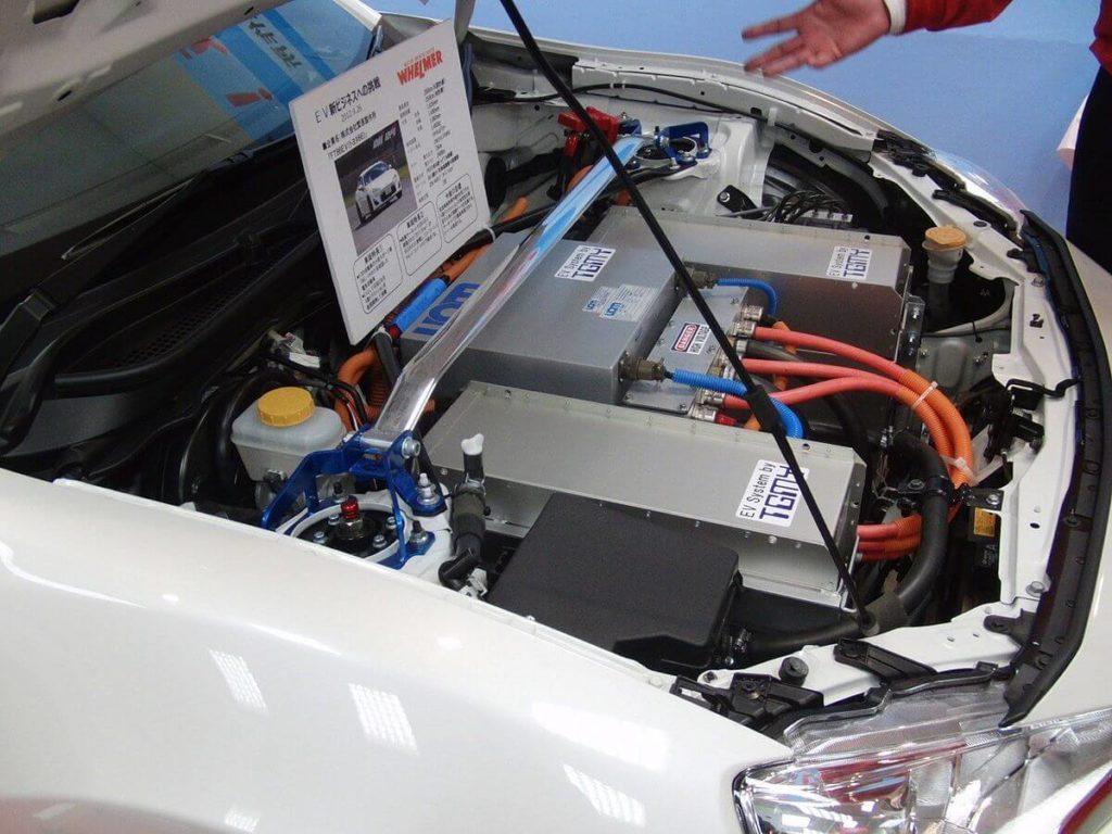 Electric car.