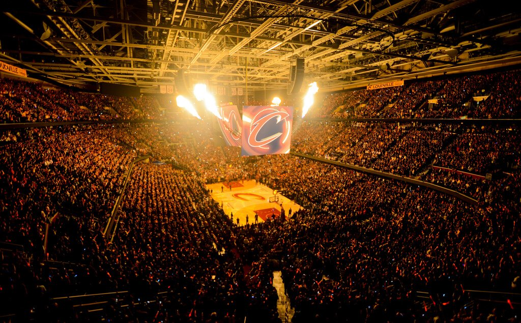Cleveland Cavaliers arena.