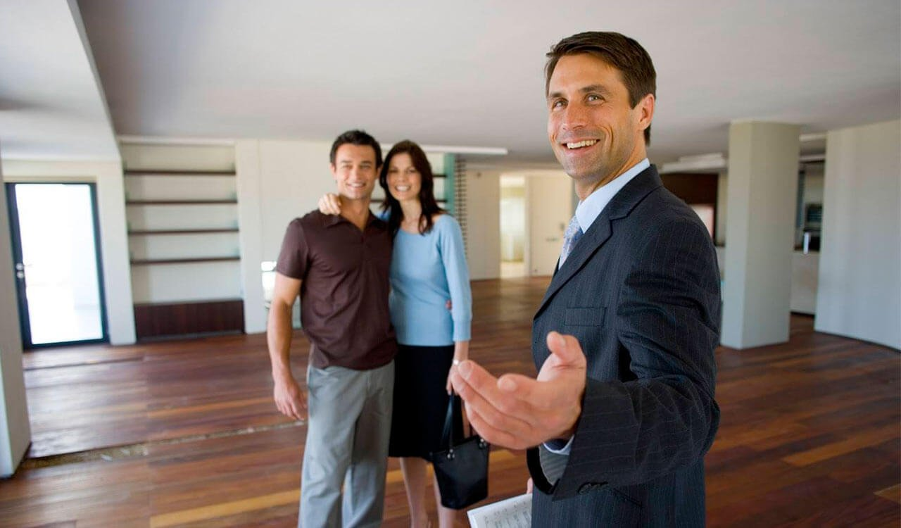One of the ways in which realtors can ensure client safety is by allowing clients to walk ahead of them while they stay behind.