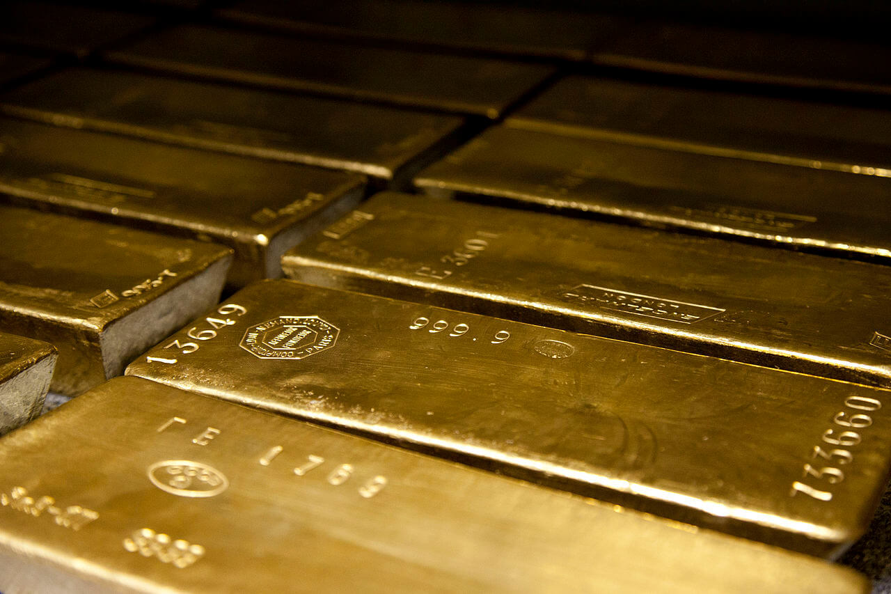 Global gold price gain on weaker dollar ahead of US inflation data