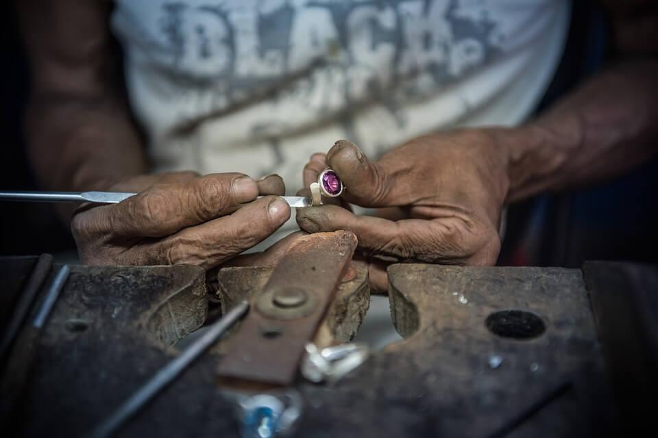 Handcraft diamond ring
