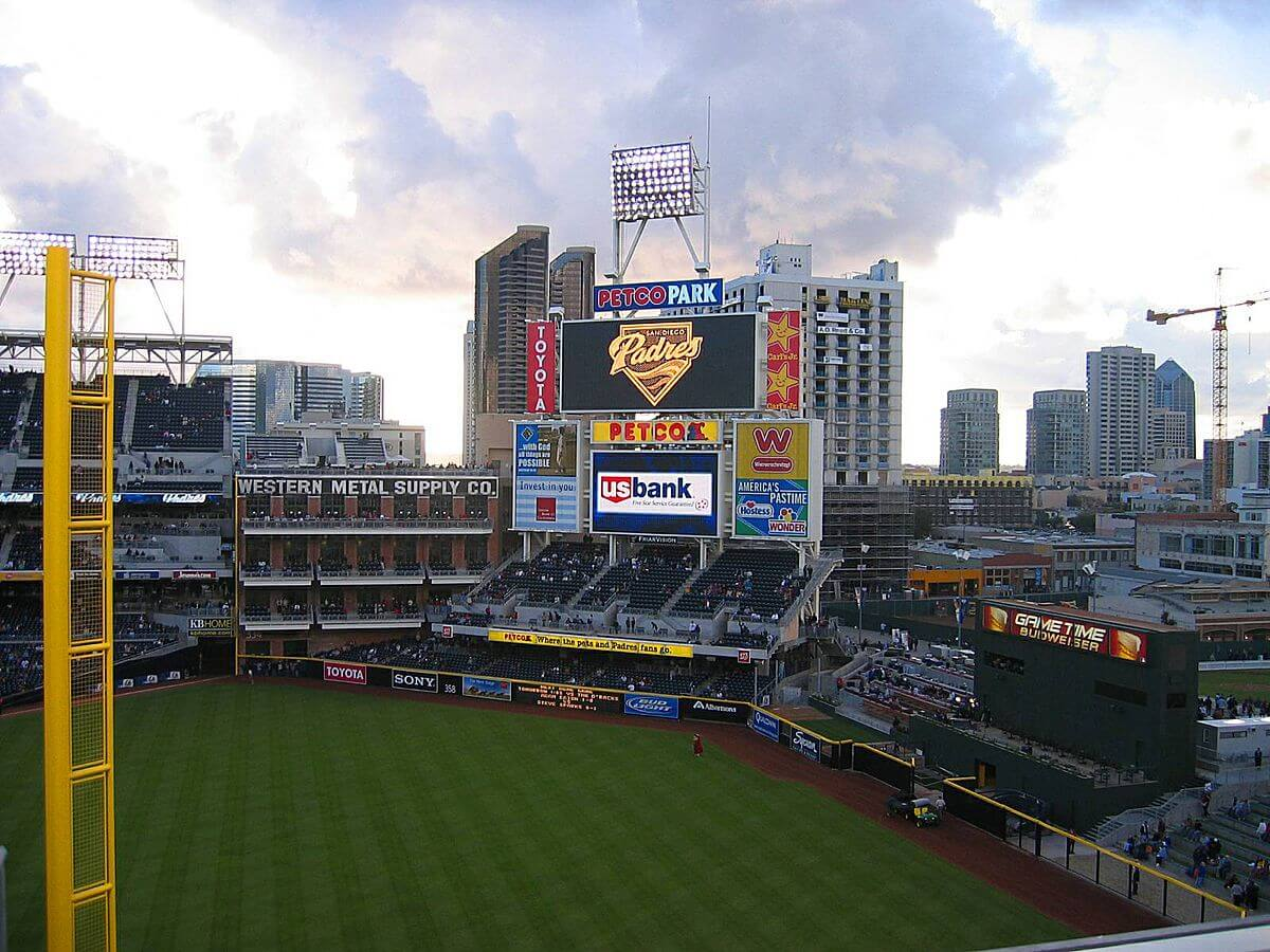 San Diego Padres stadium.