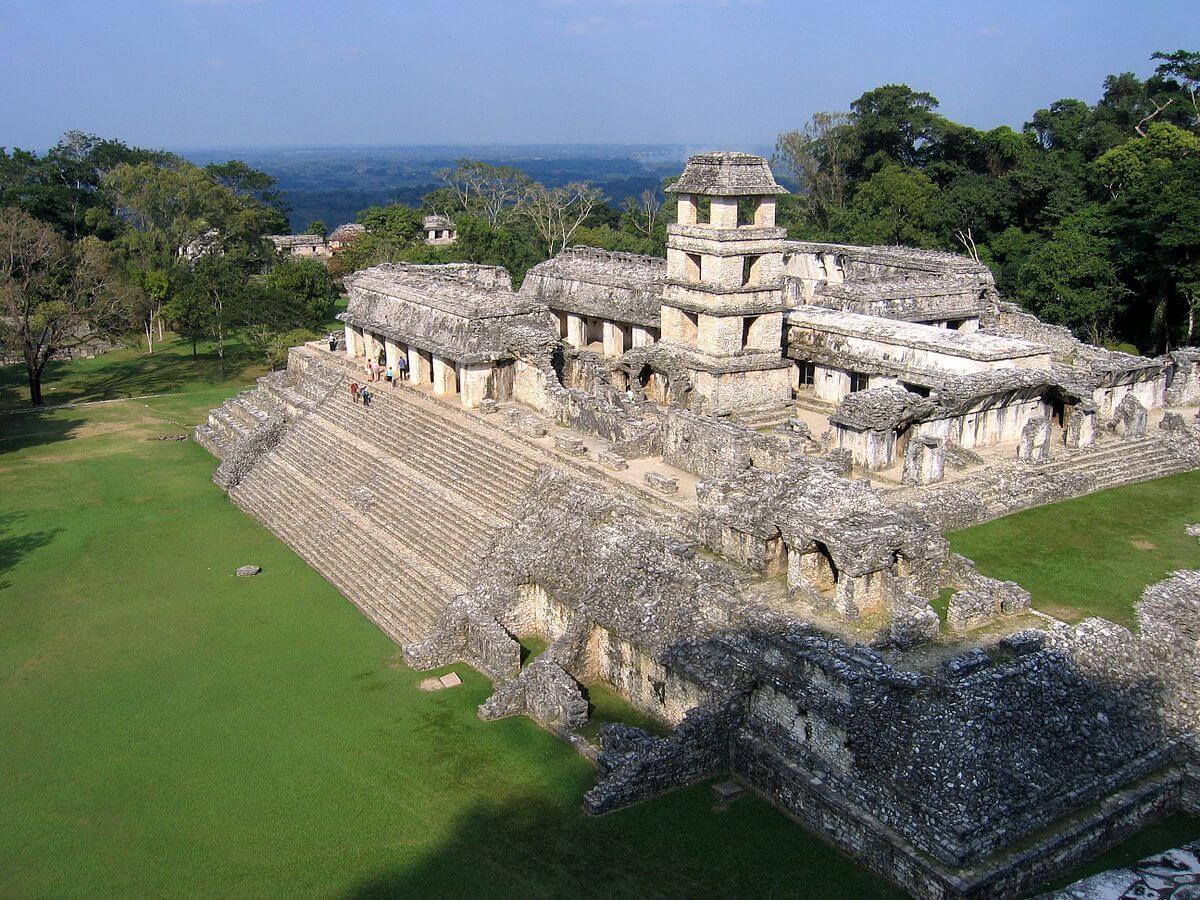 Ancient Mayan city.