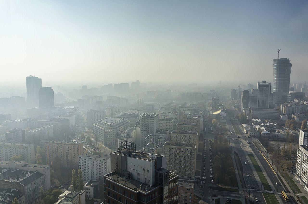 Smog in Warszawski