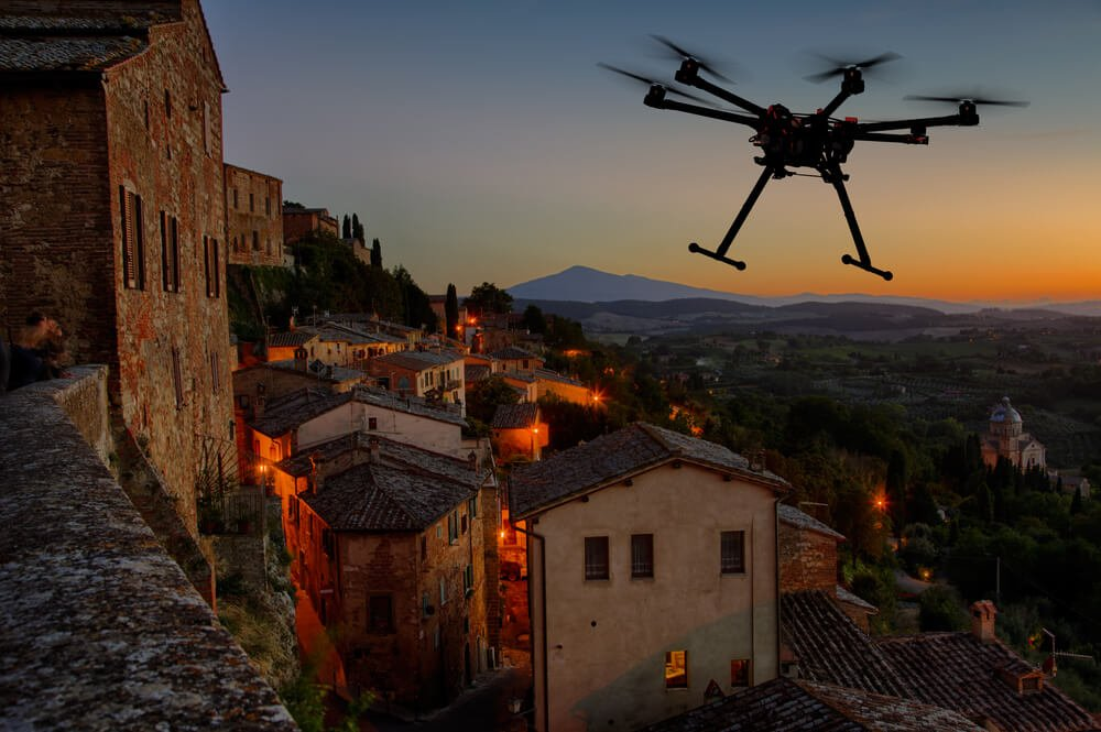 drone photography luxury travel