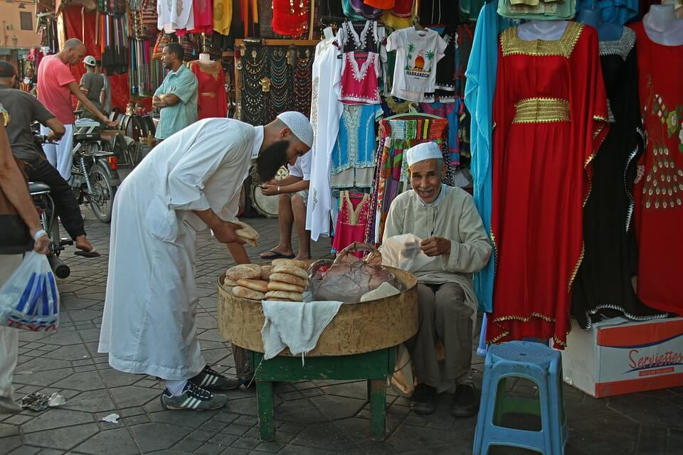 Morocco businessmen.