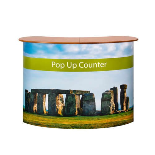 Pop Up Counter Stand.