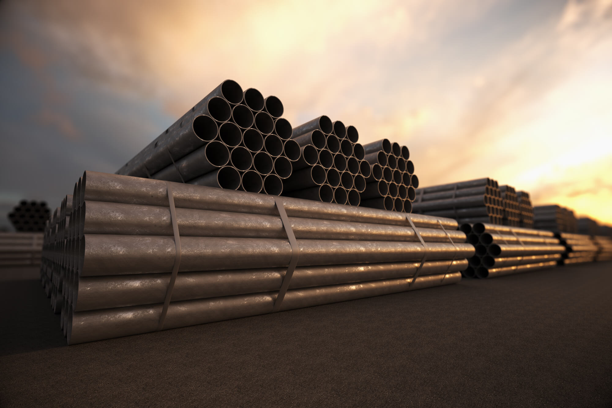 China is looking to get even with the new tariff for steel pipes bound for the U.S.