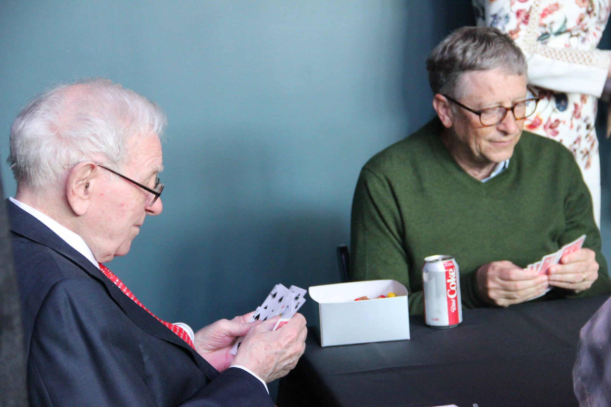 Warren Buffett and Bill Gates