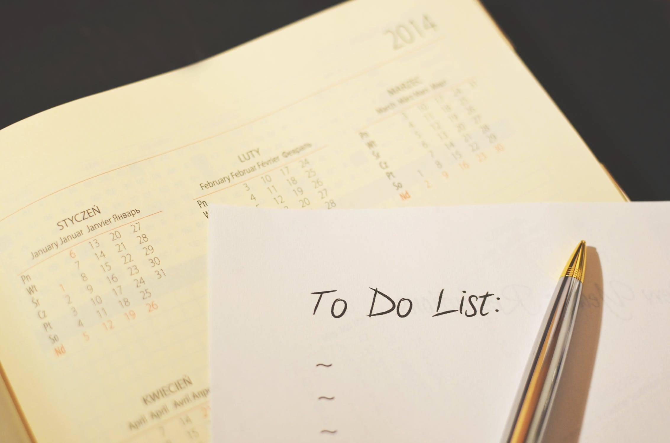 Use your to-do list as a guide to making your action list. In this way, you aim to accomplish more than just meager daily tasks.