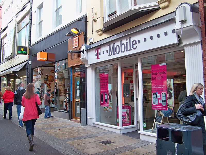 The Orange T-mobile merger was able to launch the 4G network in the UK but had laid off thousands of employees in the process. (Photo by Mtaylor848 via Wikimedia Commons. CC BY-SA 3.0)