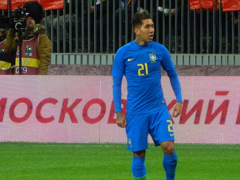 Alongside Mohamed Salah and Sadio Mané, Roberto Firmino is one of the best attacking midfielders that soccer industry has seen. (Photo by Oleg Bkhambri via Wikimedia Commons. CC BY-SA 3.0)