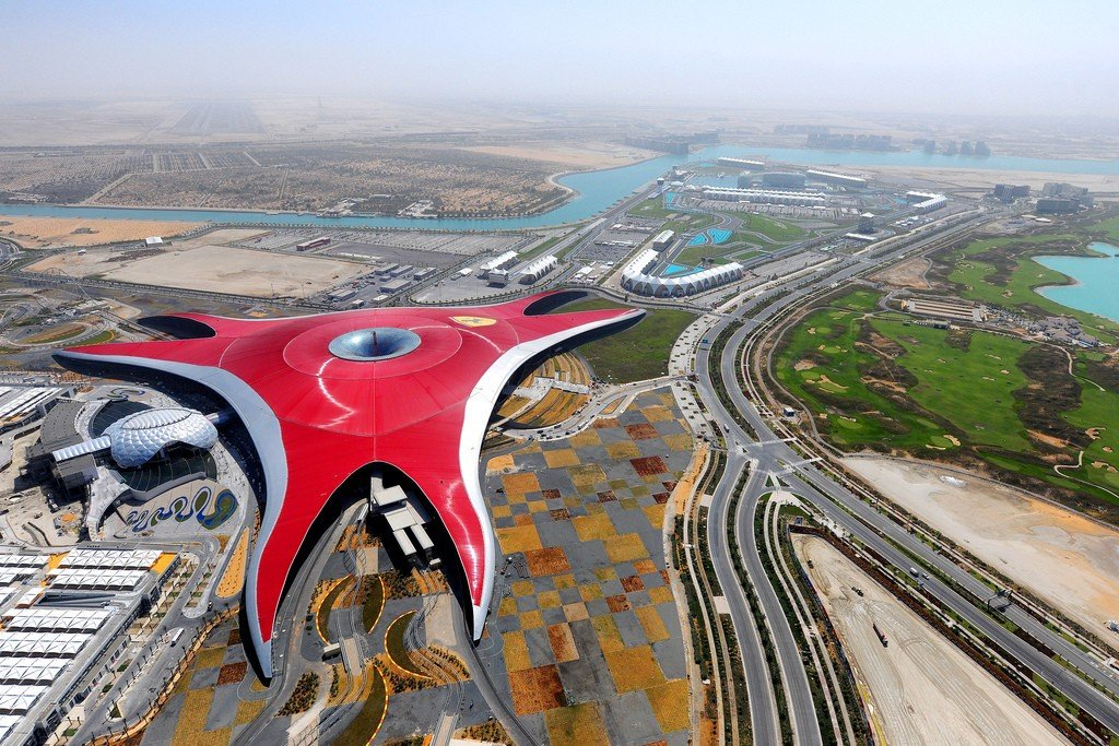Not only does Ferrari World Abu Dhabi boasts of vintage cars but it also has Formula Rossa, the fastest rollercoaster in the world. (Photo by Aziz J. Hayat via Flickr. CC BY 2.0)