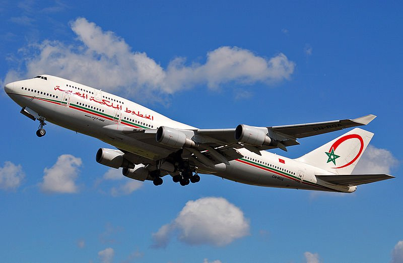 Air Maroc is the official airline which flies straight to Marrakech. (Photo by Pieter van Marion via Wikimedia Commons. CC BY-SA 2.0)