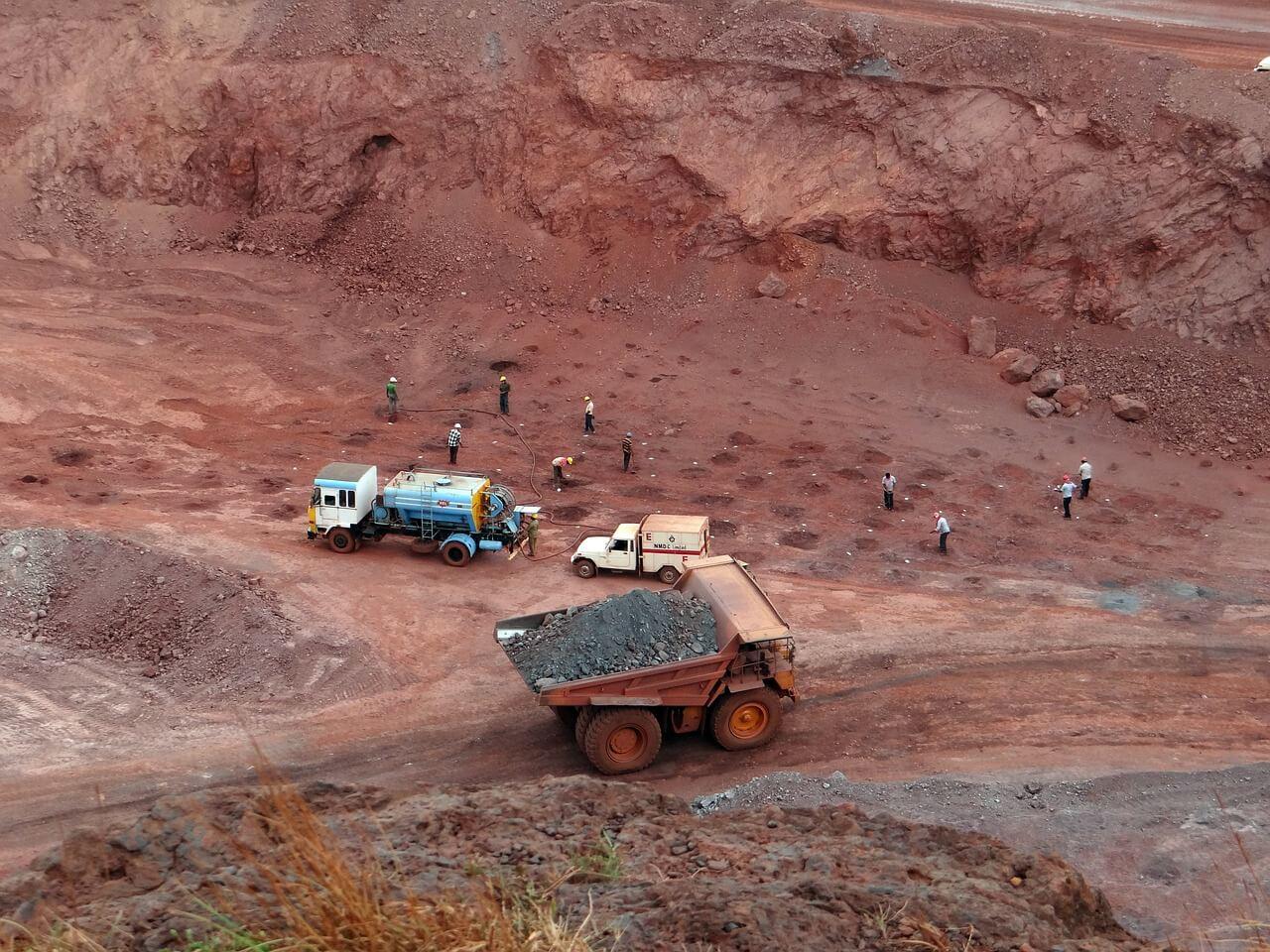Iron ore transport