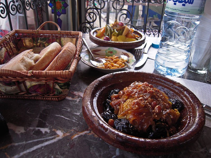 If you're looking for a traditional Moroccan fix complete with a tagine, Le Marrakchi is the definite place to be. (Photo by Michal Osmenda via Wikimedia Commons. CC BY-SA 2.0)