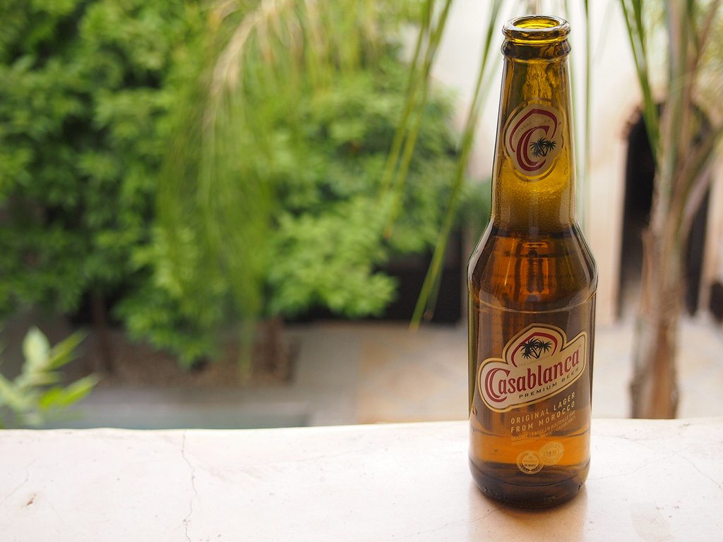 Local Moroccan brews such as Casablanca is a must try. (Photo by Mike_fleming via Flickr. CC BY-SA 2.0)