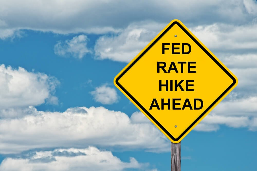 According to a research, the Fed has raised interest rates for seven times in a row, leaving two more hikes predicted to be concomitant with a decline in U.S. economy. (Photo by DepositPhotos)