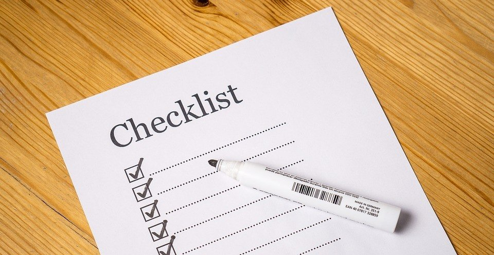 Organize your workplace by creating a checklist of tasks that must be accomplished within the day.