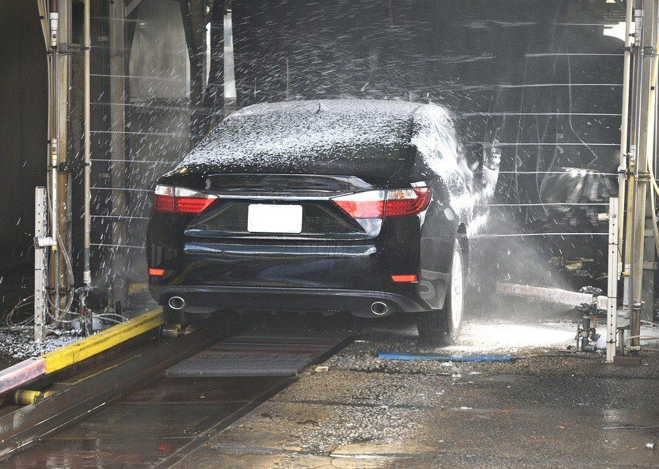 luxury car washing
