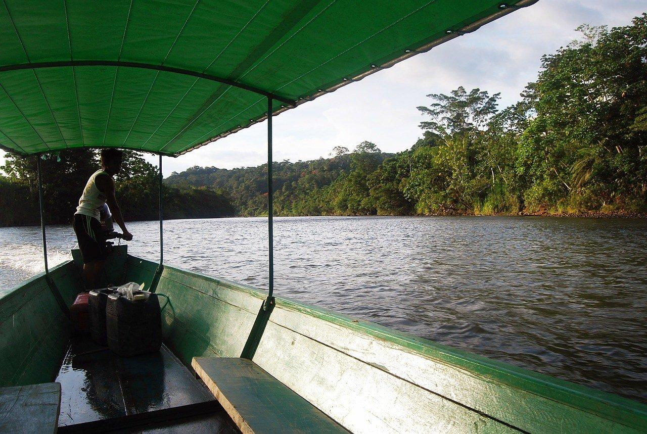 Brazil Amazon river