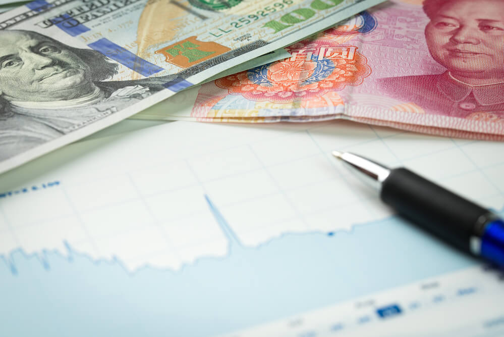 US dollar and Yuan