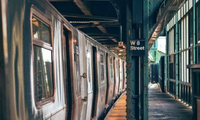 ny subway train