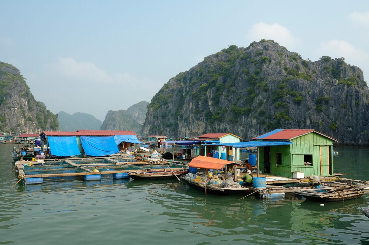 floating fishing village