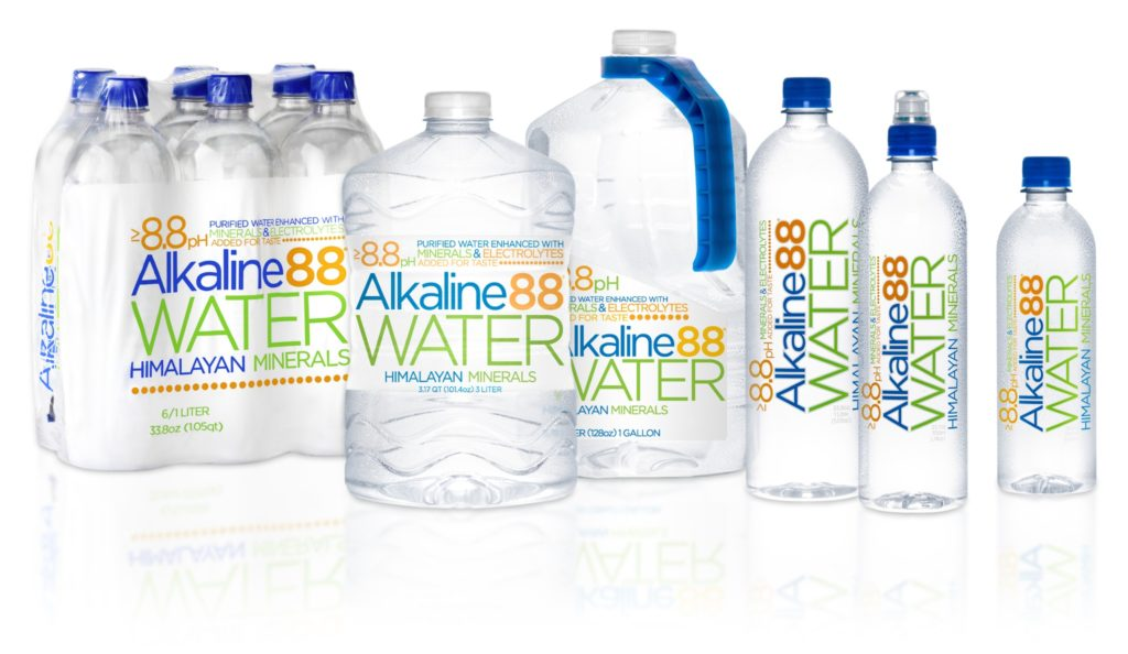 Alkaline Water88 bottles