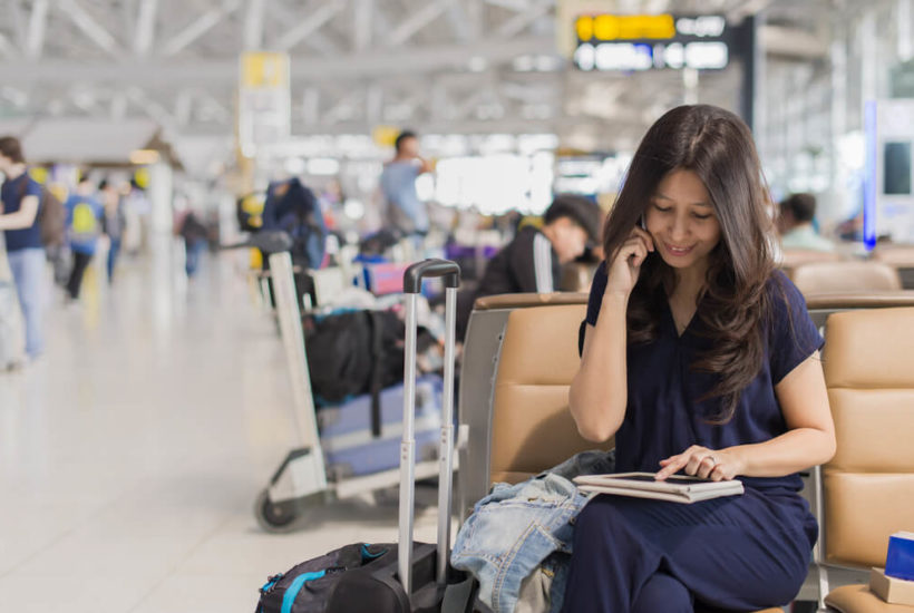 Tackling a tough travel problem? Hang up the phone