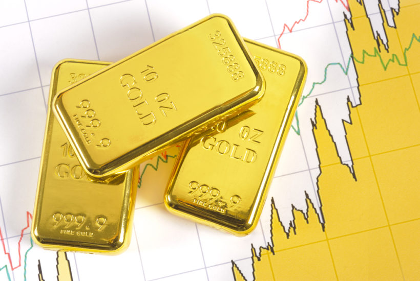 Stock market volatility returns as gold soars and heads to