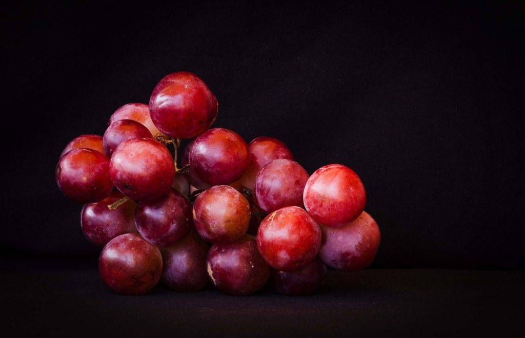 This picture show red AMC grapes.