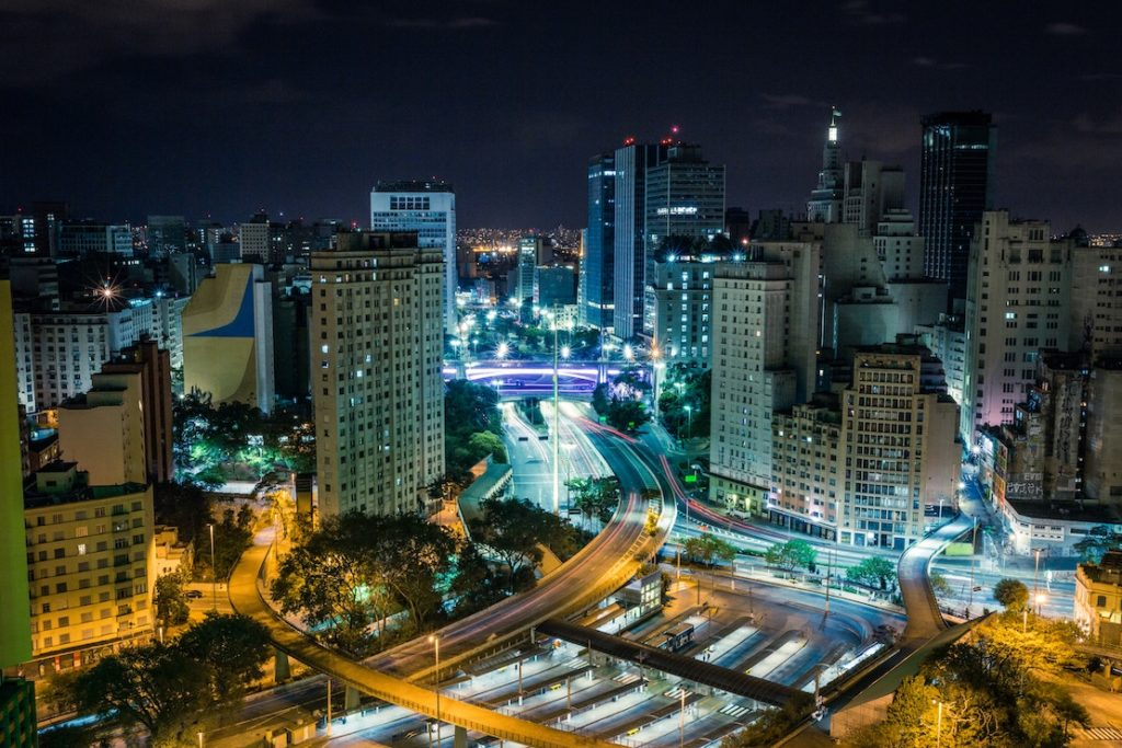 This picture show the city of Sao Paulo, Brazil.