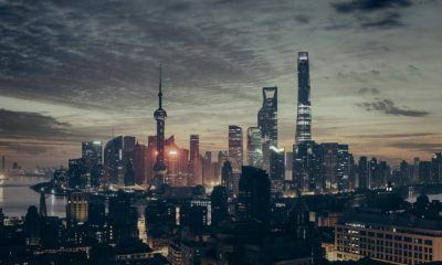 This picture show the city of Shanghai.
