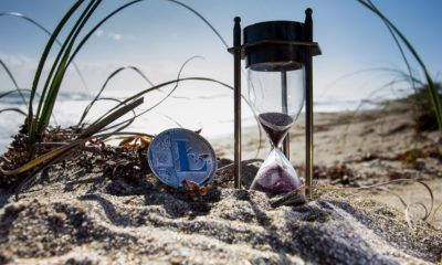 This picture show a crypto in the sand representing the blocking of the cryptocurrencies news site in Russia.