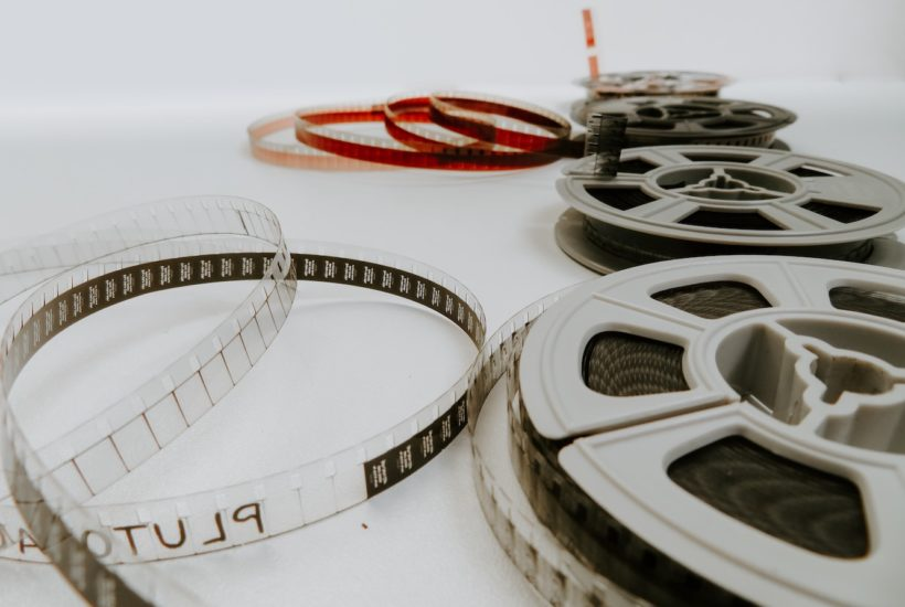 This picture show a film representing the Polish film industry.