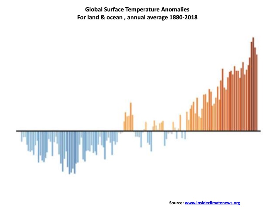 This picture show a temperature graph.