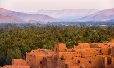 This picture show a sightseeing in Morocco.
