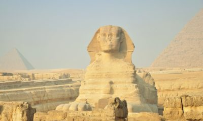 This picture show the sphinx.