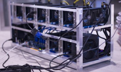 This picture shows a bitcoin miner.