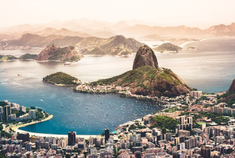 This picture shows the city of Rio de Janeiro.