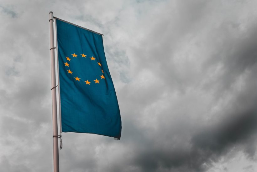 This picture show the EU flag.