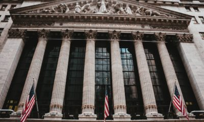 This picture show the wall street stock exchange building.