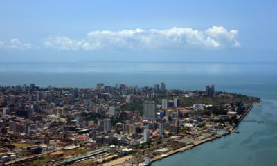This picture show a city in Mozambique.