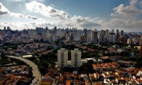 This picture show the city of Sao Paolo.
