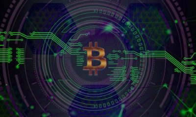 This picture show the bitcoin logo.