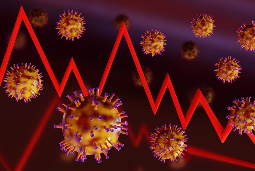 This picture represent the economic slowdown caused by the coronavirus.