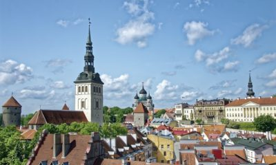 This picture show a city in Estonia.